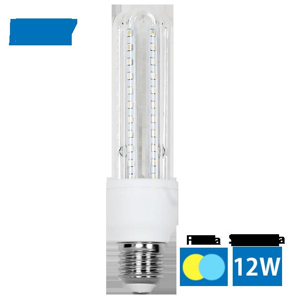 LED žiarovka T3 3U   12W E27 teplá