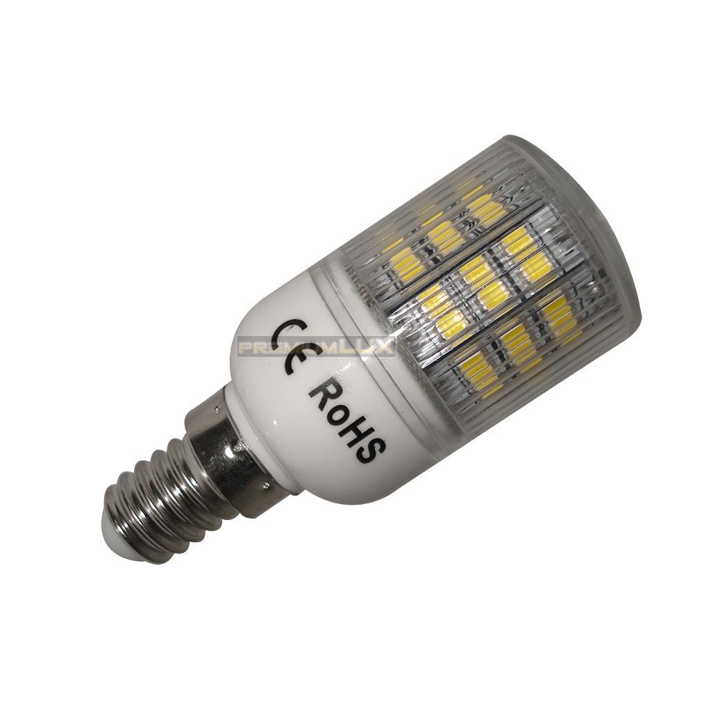 LED žiarovka E14 48 SMD 2835 5W teplá