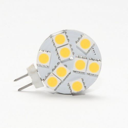 LED žiarovka 9 x SMD 5050 G4 1,5W teplá biela