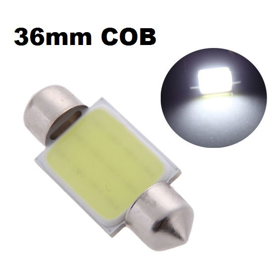LED auto žiarovka C5W 36mm COB