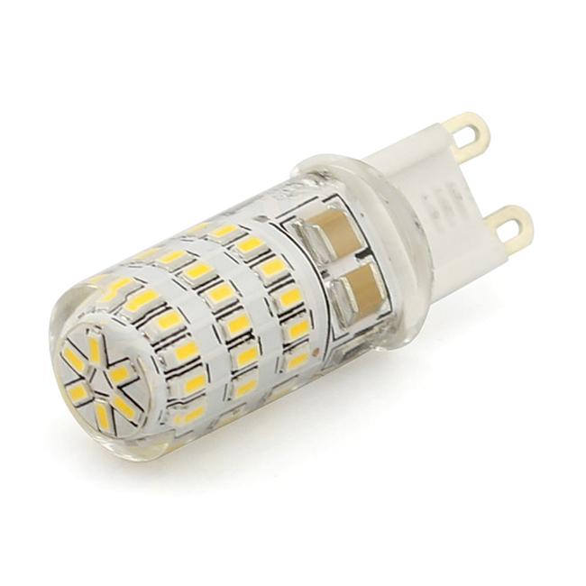 LED žiarovka 45 x SMD 3014 G9 3,5W teplá biela