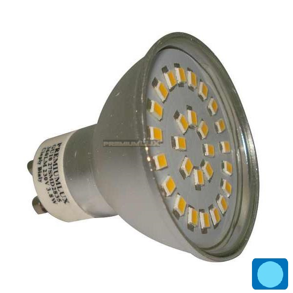 LED žiarovka 30 x SMD 2835 GU10 4,2W studená