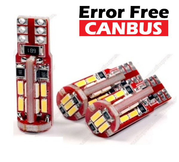 LED autožiarovka T10 4014 SMD - CANBUS