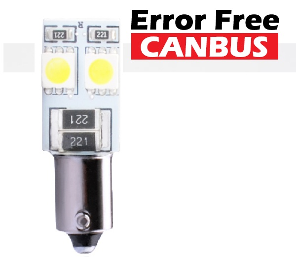LED L314W-Ba9s 5 SMD 5050 1.5W Canbus