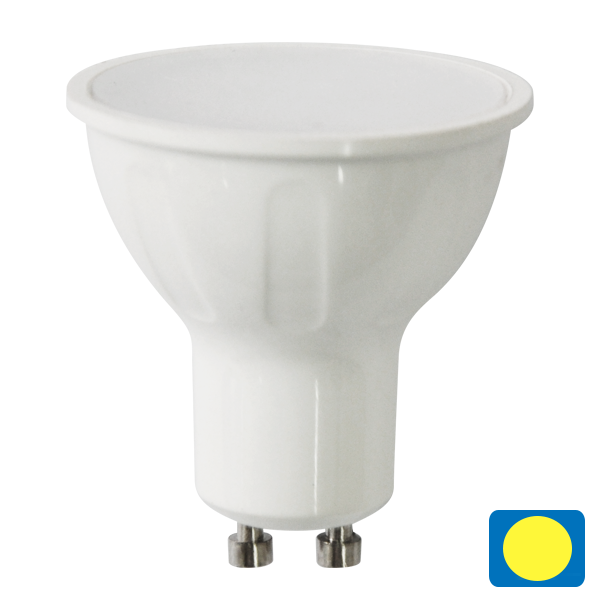 LED žiarovka A5 GU10 6W COB teplá
