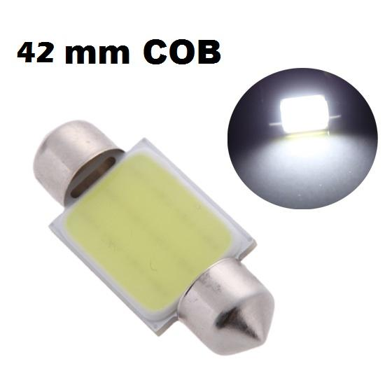 LED auto žiarovka C5W 42mm COB