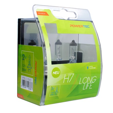 Powertec Long Life H7 bulb 12V DUO