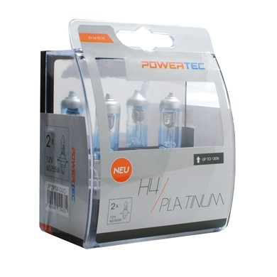 Powertec Platinum +130% H4 12V DUO